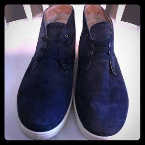 Genuine Florsheim Blue Suede Chukka Boots